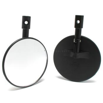 Lenkerendenspiegel Cento rund verstellbar schwarz