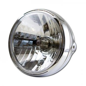 haupt scheinwerfer new nevo 7 chrom led standlicht ring. Black Bedroom Furniture Sets. Home Design Ideas