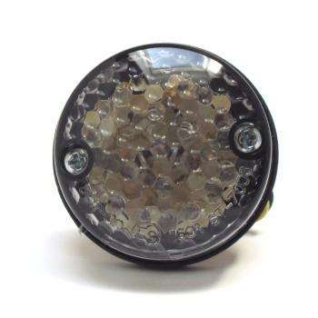 led r cklicht mit kennzeichenbeleuchtung rund glas get nt. Black Bedroom Furniture Sets. Home Design Ideas