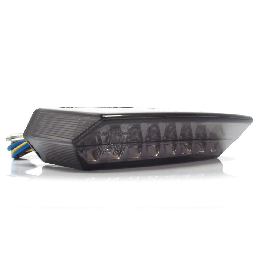 led r cklicht mit kennzeichenbeleuchtung teramo glas. Black Bedroom Furniture Sets. Home Design Ideas